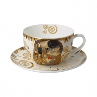 Filiżanka do herbaty Pocałunek 500 ml - Gustav Klimt Goebel 67012711