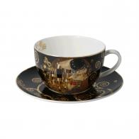 Filiżanka do herbaty Pocałunek 500 ml - Gustav Klimt Goebel 67012721