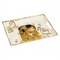 Taca Pocałunek 15 x 20 x 19,5 cm - Gustav Klimt Goebel 67017541