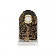Zegar na biurko Drzewo Życia 11 cm - Gustav Klimt Goebel 66522531