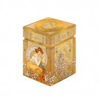 Pudełko 11 cm Topaz Alfons Mucha Goebel 67065161