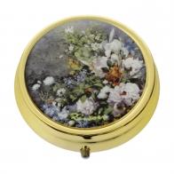 Pill Box Wiosenne Kwiaty 5 cm - Auguste Renoir Goebel 67066071