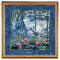 Obraz Lilie Wodne z Wierzbą 68 x 68 cm- Claude Monet Goebel 66534781