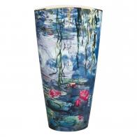 Wazon Lilie Wodne z Wierzbą 50 cm- Claude Monet Goebel 66539021