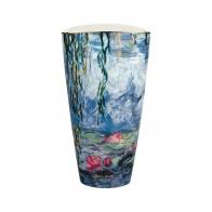 Wazon Lilie Wodne z Wierzbą 28 cm - Claude Monet Goebel 66539031