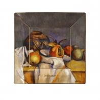 Talerz kwadratowy 12 x 12 cm - Still Life with Pears - Paul Cézanne Goebel 67110101