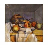 Talerz kwadratowy 16 x 16 cm - Still Life with Pears - Paul Cézanne Goebel 67110111
