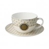 Filiżanka do herbaty Kwiat Życia biały 250 ml - Lotus Goebel 23500421