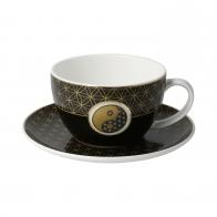 Filiżanka do herbaty Yin Yang Czarny 250 ml - Lotus