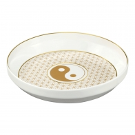 Miska Yin Yang Biały 31 cm - Lotus