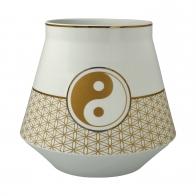 Lampka biurkowa Yin Yang Biały 18 cm - Lotus