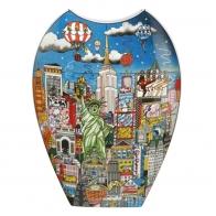 Wazon New York / Berlin 47 cm - Charles Fazzino Goebel 67090151
