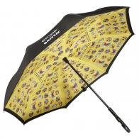 Suprella - parasol odwrotnie składany Summer Feelings - Emoji by BRITTO Goebel 66460151