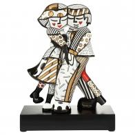 Figurka Golden Cheek to Cheek 47 cm - Romero Britto Goebel 66452501