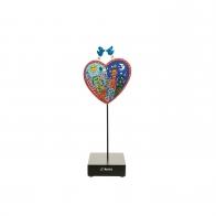 Figurka Love in the Heart of City 27 cm - James Rizzi Goebel 26101541