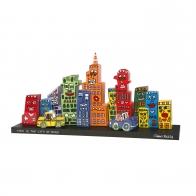Zestaw Mini Panorama - Mini Skyline 42 x 19 cm - James Rizzi Goebel 26101521