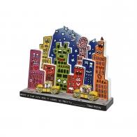 Figurka What a Fun City 27 x 21 cm - James Rizzi Goebel 26101561