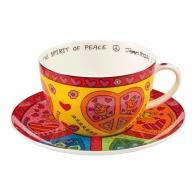 Filiżanka do herbaty The Spirit of Peace 500 ml - James Rizzi Goebel 26102041