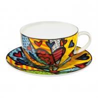 Filiżanka do herbaty A New Day 0,5 l - Romero Britto Goebel 66452541