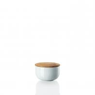 Cukiernica z drewnianą pokrywką 280 ml - Joyn Mint
