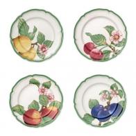 Zestaw talerzy obiadowych 4 szt. - French Garden Modern Fruits