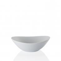 Salaterka 24,5 x 18,5 cm - Form 2000 Weiss Arzberg 42000-800001-15275