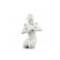 Figurka - Anioł Niebiańskiego Serca 29 cm - Lladro 01009444