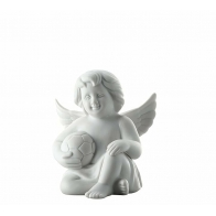 Figurka Anioł z piłką nożną, średni 10 cm