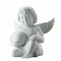 Figurka Anioł z piłką nożną, duży 14 cm