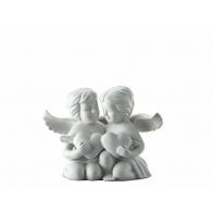 Figurka - Para aniołów z sercem, średnia 11 cm 69055-000102-90526
