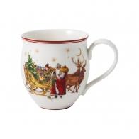 Kubek Św. Mikołaj z saniami 440 ml - Toy's Delight VILLEROY & BOCH 1485854876