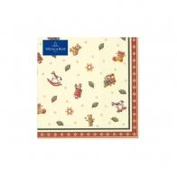 Serwetki w drobne motywy świąteczne 33 x 33 cm - Winter Specials Toys