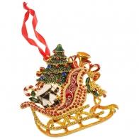 Sanie świąteczne 12 cm - Winter Collage Accessoires