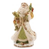 Św. Mikołaj w jasnym płaszczu 48 cm - Fitz and Floyd 1019095