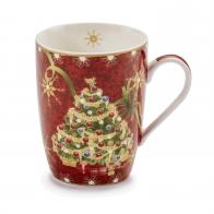Kubek świąteczny 10,5 cm - Natale Con I Fiocchi - Palais Royal