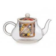 Dzbanek do herbaty 18 x12 cm - Santa Rosalia