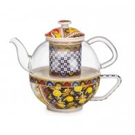 Dzbanek do herbaty 14 x 16 cm - Santa Rosalia