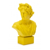 Popiersie młodzieńca Neoclassico 35 cm żółte - Palais Royal