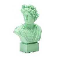 Popiersie młodzieńca Neoclassico 50 cm zielone - Palais Royal