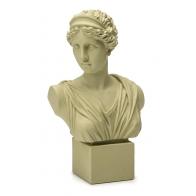 Popiersie kobiety Neoclassico 35 cm kremowe - Palais Royal