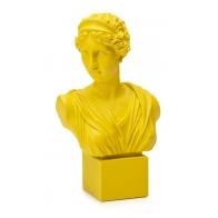 Popiersie kobiety Neoclassico 50 cm żółty - Palais Royal
