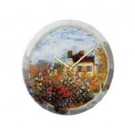 Zegar ścienny 30,5cm - Dom Artysty - Claude Monet