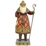 Figurka Mikołaj z łyżwamim 26cm Jim Shore