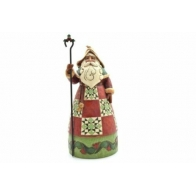 Figurka Mikołaj z laską 26cm Jim Shore
