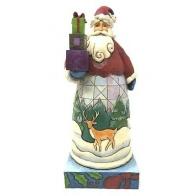 Figurka Mikołaj z prezentami 19cm Jim Shore
