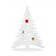 Świąteczna choinka Bark 30 cm biała Alessi