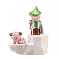 Figurka Owce 4 cm - Happy Eternity Baby Alessi AGJ01-8