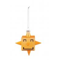 Bombka Gwiazda Star Cube 9,8 cm - Christmas collection Alessi GJ02_2