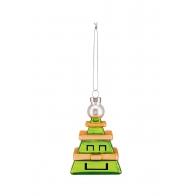 Bombka Choinka Tree Cube 9 cm - Christmas collection Alessi GJ02_4