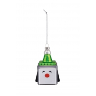 Bombka Pingwin Pengwin Cube 9,2 cm - Christmas collection Alessi GJ02_5